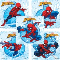 Spider-Man Winter Stickers