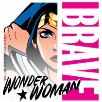 Wonder Woman Hero Stickers