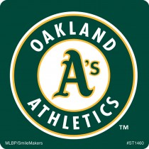 Oakland Athletics Logo Stickers