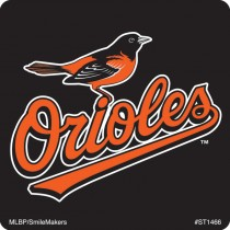 Baltimore Orioles Logo Stickers