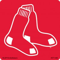 Boston Red Sox Logo Stickers