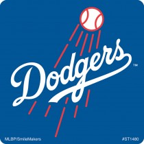 Los Angeles Dodgers Logo Stickers