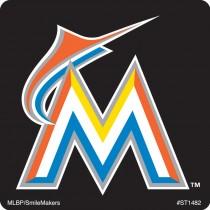 Miami Marlins Logo Stickers