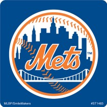 New York Mets Logo Stickers