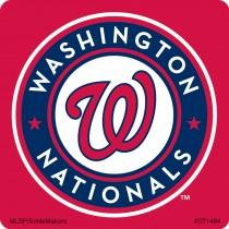 Washington Nationals Logo Stickers