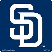 San Diego Padres Logo Stickers