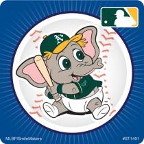 Oakland Athletics Mascot Stickers