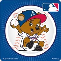 Atlanta Braves Mascot Stickers