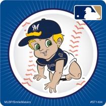 Milwaukee Brewers Mascot Stickers