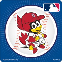 St. Louis Cardinals Mascot Stickers