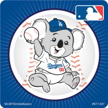 Los Angeles Dodgers Mascot Stickers