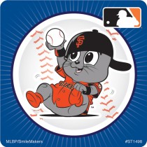 San Francisco Giants Mascot Stickers