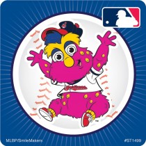 Cleveland Indians Mascot Stickers