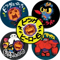 Big Hero 6 TV Stickers