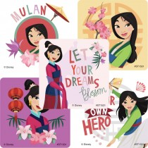 Mulan Stickers