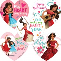 Elena of Avalor Valentines Stickers