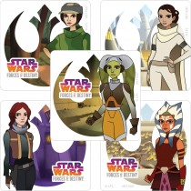 Star Wars Forces of Destiny Stickers