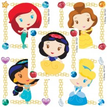 Disney Princess Jewel Stickers