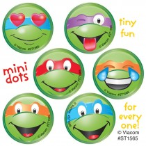 Teenage Mutant Ninja Turtles Emoji Mini Dot Stickers