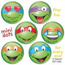 Teenage Mutant Ninja Turtles Emoji Mini Dot Stickers