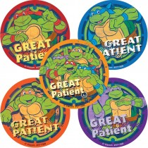 Teenage Mutant Ninja Turtles Great Patient Stickers