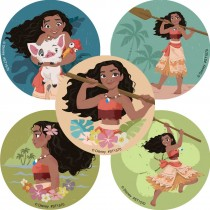 Moana Favorite Poses Stickers