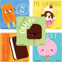 Ice Cream Treat Stickers