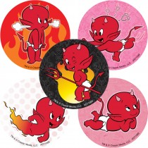 Hot Stuff the Little Devil Stickers