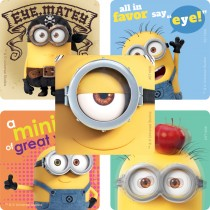 Minions Eyecare Stickers