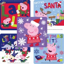 Peppa Pig Christmas Stickers