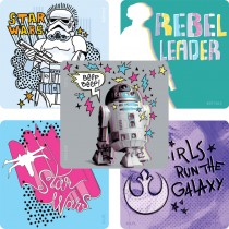 Star Wars Rebel Leader Stickers