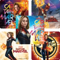 Captain Marvel Movie Stickers