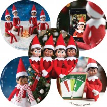 Elf on the Shelf Buddies Stickers
