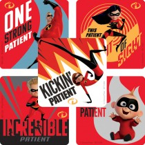 The Incredibles Patient Stickers