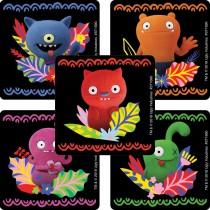 UglyDolls Vibrant Jungle Stickers