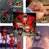 The Incredibles Still Frame Stickers