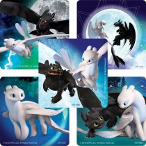 How to Train Your Dragon: the Hidden World Glow-in-the-Dark Stickers