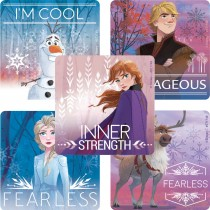Frozen II Fearless Stickers