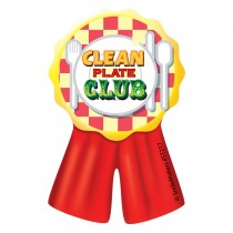 Clean Plate Ribbon Stickers