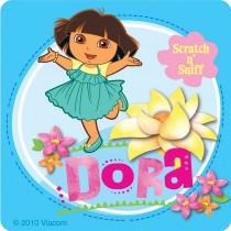 Scented Dora the Explorer Stickers