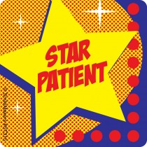 Star Patient Star Stickers