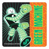 Green Machine Stickers