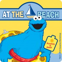 Scented Sesame® Street Beach Stickers