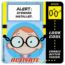 Eye Alert Stickers