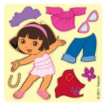 Make-Your-Own™ Dora the Explorer Stickers