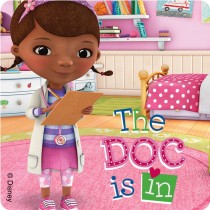 Doc McStuffins Patient Stickers