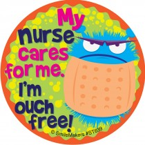My Nurse Cares Stickers