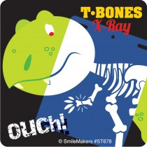 Glow In The Dark Dino X-Ray Stickers