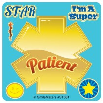 Make Your Own Star Patient Stickers