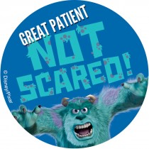 Monsters, Inc. Patient Stickers